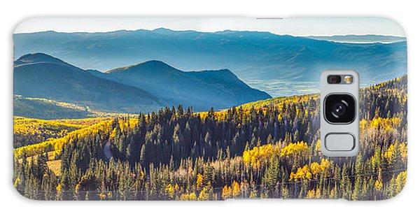 Utah Autumn Panorama Galaxy Case