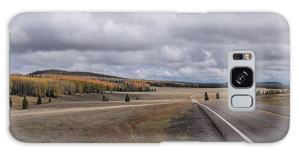 Galaxy Case featuring the photograph Utah Highway With Aspens by Frank DiMarco