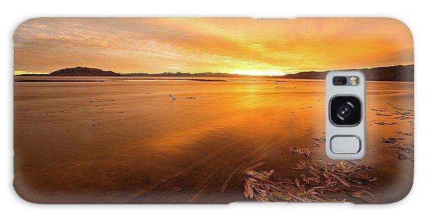Utah Lake Sunset Galaxy Case