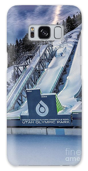 Utah Olympic Park Galaxy Case by David Millenheft