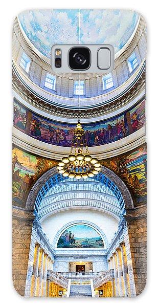 Utah State Capitol Rotunda #2 Galaxy Case