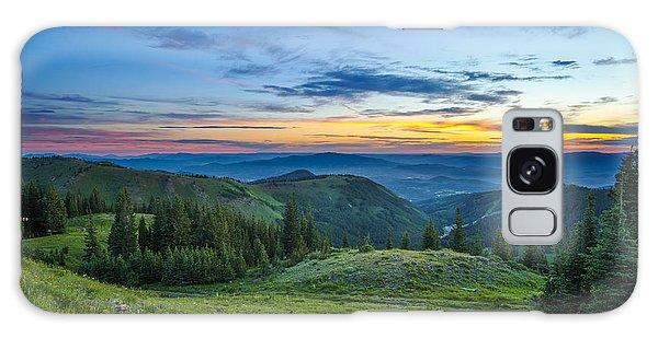 Utah Sunrise Above Park City Galaxy Case