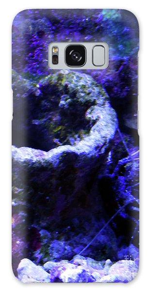 Galaxy Case featuring the digital art Uw Coral Stone by Francesca Mackenney
