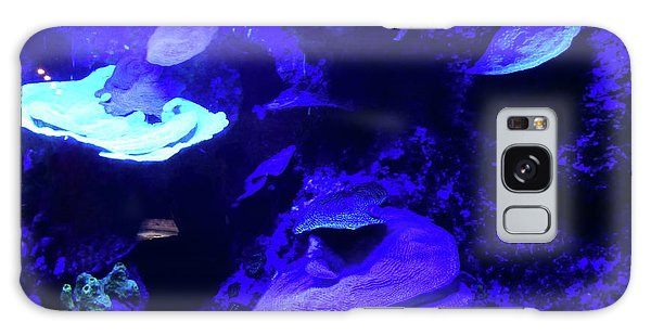 Galaxy Case featuring the photograph Uw Neon Coral by Francesca Mackenney