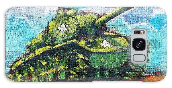 V. F. W. Tank Galaxy Case by Les Leffingwell