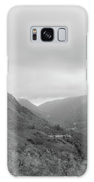 Galaxy Case featuring the photograph V For Vientoooooo Or Just The V On The Mountain by Bruno Rosa