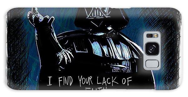 Galaxy Case featuring the digital art Vader by Antonio Romero