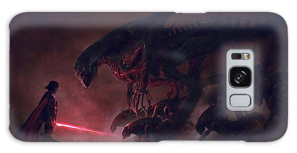 Outer Space Galaxy Case - Vader Vs Aliens 4 by Exar Kun