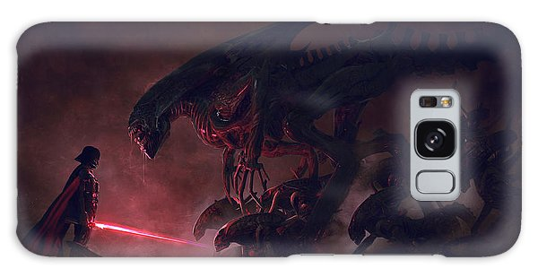 Battle Galaxy Case - Vader Vs Aliens 4 by Exar Kun