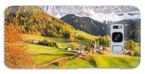 Val Di Funes, Italy Galaxy Case