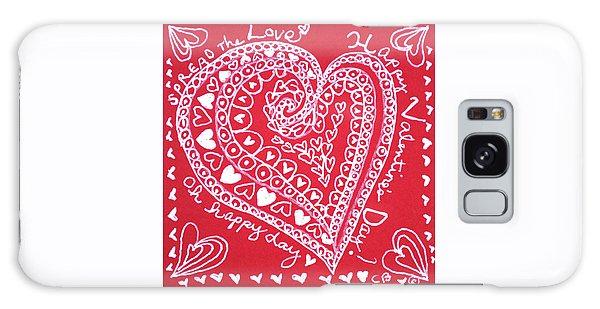 Valentine Heart Galaxy Case