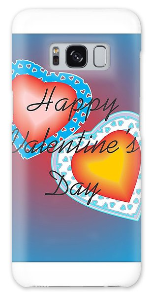 Valentine Lace Galaxy Case by Sherril Porter