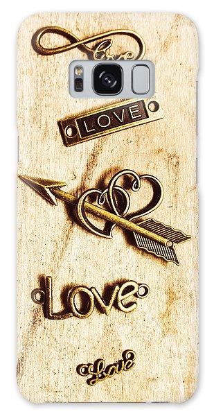 Metal Galaxy Case - Valentine Pendants by Jorgo Photography - Wall Art Gallery