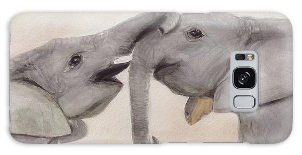 Valentine's Day Elephant Galaxy Case