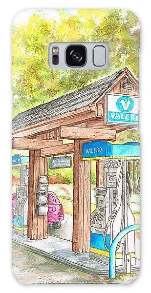 Valero Gas Station In Big Sur, California Galaxy Case