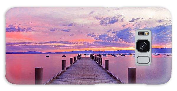 Valhalla Pier Sunrise By Brad Scott Galaxy Case