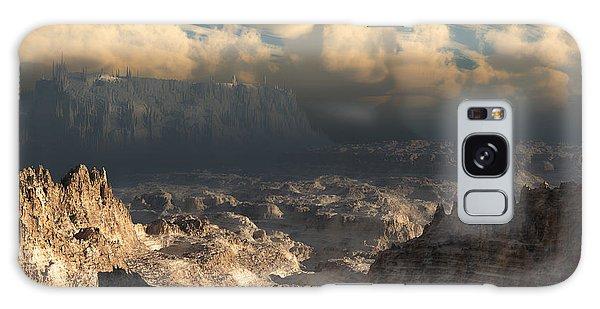Valley At Dusk Galaxy Case