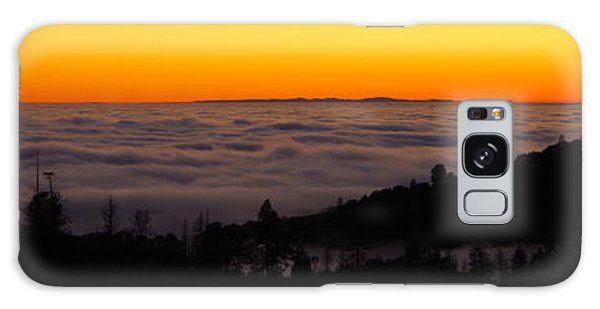 Valley Fog Twilight Galaxy Case