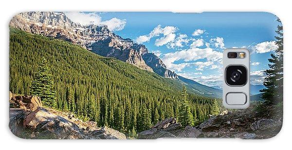 Moraine Lake Galaxy Case - Valley Near Moraine Lake Banff by Joan Carroll
