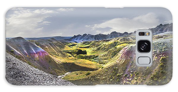 Valley Of Beauty,badlands South Dakota Galaxy Case by John Hix