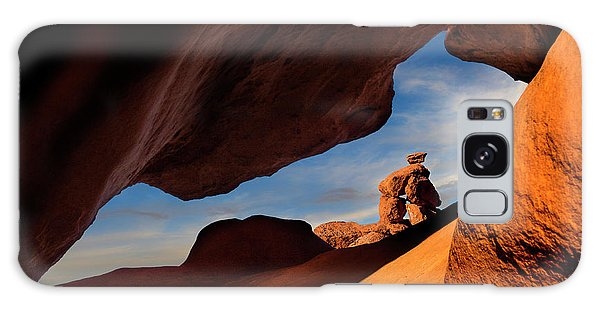 Valley Of Fire Look Through Galaxy Case by Gary Warnimont