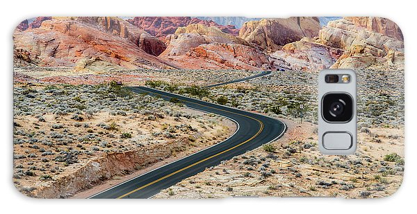 Road Through The Valley Of Fire Galaxy Case