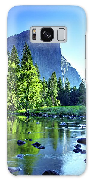 Valley View Morning Galaxy Case by Rick Berk