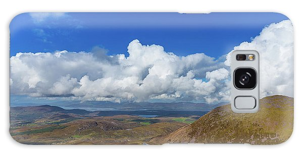 Valleys And Mountains In County Kerry On A Summer Day Galaxy Case by Semmick Photo