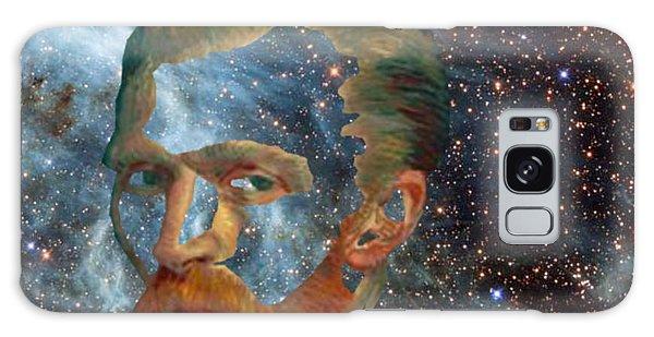 Van Gogh Art Study In Blue Galaxy Case