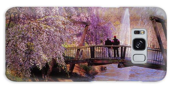 Van Gogh Bridge - Reston, Virginia Galaxy Case