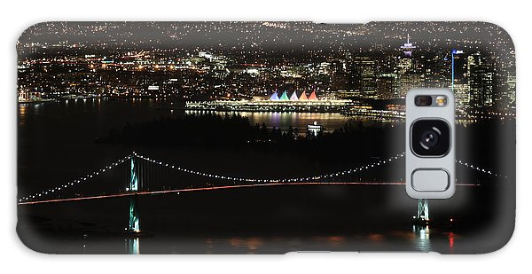 Vancouver At Night Galaxy Case