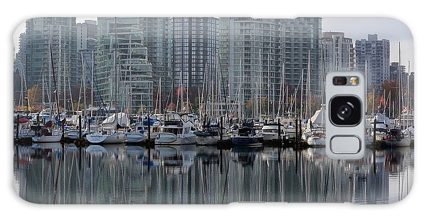 Vancouver City Galaxy Case - Vancouver Bc - Boats And Condos by Richard Andrews
