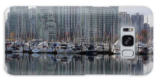 Vancouver Bc - Boats And Condos Galaxy Case