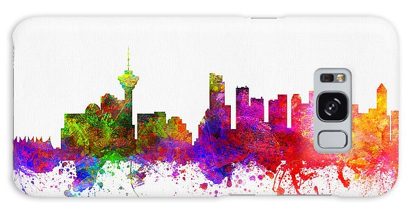 Vancouver City Galaxy Case - Vancouver British Columbia Skyline Color02 by Aged Pixel