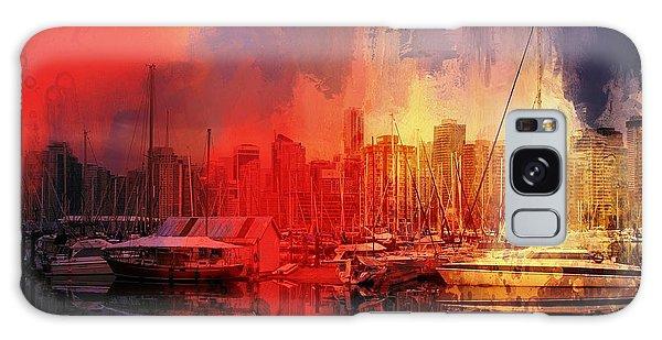 Vancouver Galaxy Case by Eva Lechner