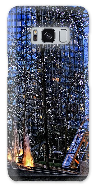 Vancouver - Magic Of Light And Water No 1 Galaxy Case by Ben and Raisa Gertsberg