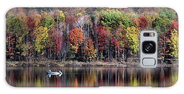 Vanishing Autumn Reflection Landscape Galaxy Case