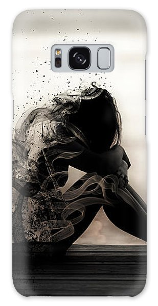 Vapours Of Sadness Galaxy Case