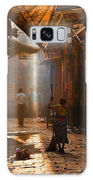 Varanasi Morning Galaxy Case