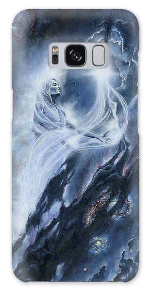 Galaxy Case featuring the painting Varda Of The Stars by Kip Rasmussen