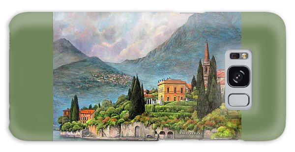 Varenna Italy Galaxy Case by Donna Tucker