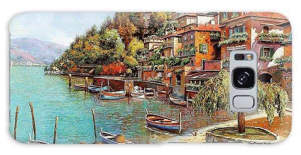 Lake Galaxy Case - Varenna On Lake Como by Guido Borelli