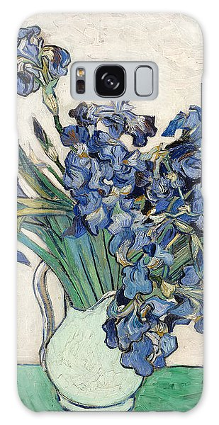 Galaxy Case featuring the painting Vase With Irises by Van Gogh