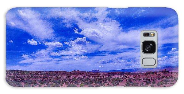 Desert Flora Galaxy Case - Vast Desert Sky by Garry Gay