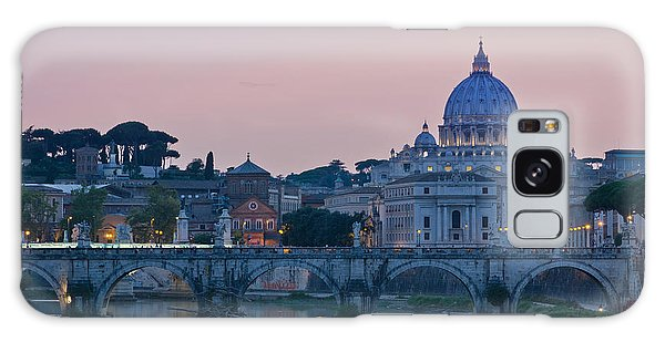 Vatican City At Sunset Galaxy Case