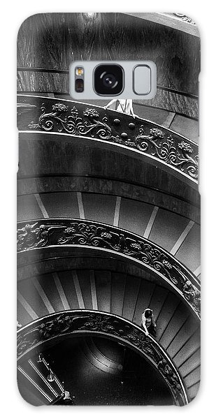 Galaxy Case featuring the digital art Vatican Stairs by Julian Perry