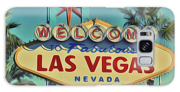 Galaxy Case featuring the painting Vegas by Harry Warrick