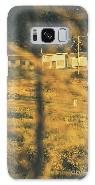Rolling Stone Magazine Galaxy S8 Case - Vegitation View Of Rural Farm Homestead  by Jorgo Photography - Wall Art Gallery
