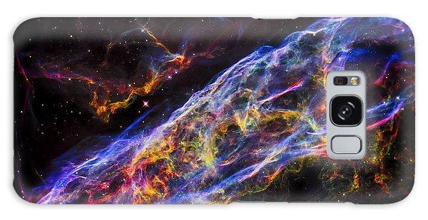 Veil Nebula - Rainbow Supernova  Galaxy Case