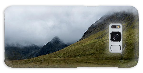 Fairy Pools Galaxy Case - Velvet Hills In The Mist by Wendi Donaldson Laird
